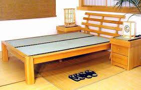 Asian Inspired Platform Beds - making tatami platform bed bedroom ideas