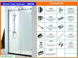 Shower Door Kits Shower Door Hardware Limette Co