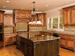 Neutral Kitchen Backsplash Ideas Kitchen Most Popular Cabinet Color Tropic Brown Granite