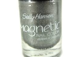 review sally hansen magnetic nail polish silver elements yukcoba in