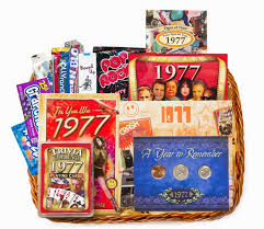 birthday gift baskets for women birthday gift basket for 1977