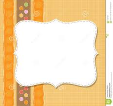 cool frame cool template frame design for greeting card stock vector