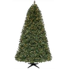 7 5 ft pre lit artificial wesley pine tree with clear