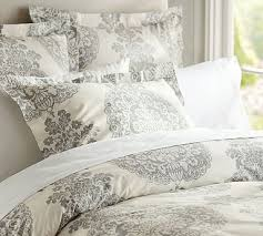 Brocade Duvet Cover Machine Wash Damask Bedding Pottery Barn