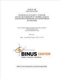 cara membuat makalah untuk presentasi contoh laporan hasil karya inovatif makalah a zainal mutaqin