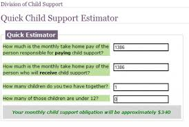 how much in child support will i have to pay get hubpages