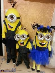despicable me minions halloween costumes for kids