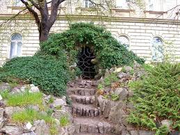 Secret Garden Wall by Charles University Botanic Garden Prague Stay
