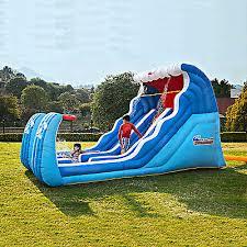 Backyard Water Slide Inflatable by Splish Splash Top Backyard Water Toys For Kids Collection On Ebay