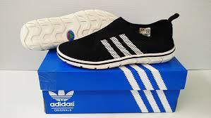Sepatu Adidas Slip On sepatu adidas slip on warna hitam tokobelibeli