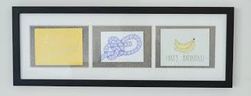 framed greeting cards diy wall the kindred streetthe kindred