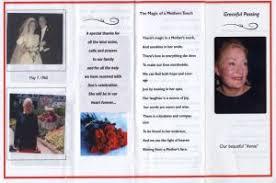 Template For Funeral Program Memorial Program How To Write A Memorial Program Free Tips Funeral