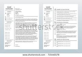 vector minimalist creative cover letter one stock vector 715440157