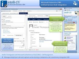 Microsoft Service Desk Intelli Cti For Microsoft Dynamics Crm Product Tour V2 0