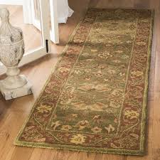 Rust Area Rug Safavieh Jaipur Tufted Wool Green Rust Area Rug Reviews