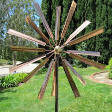 stanwood wind sculpture kinetic copper wind sculpture
