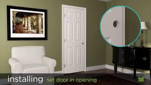 Hanging Prehung Door Interior How To Install Masonite Split Jamb Interior Doors Youtube