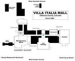 Pepsi Center Floor Plan by Villa Italia Floorplan The Mall Pinterest Italia