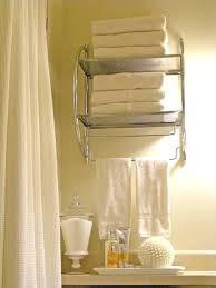 Bathroom Wall Cabinet With Towel Bar Bathroom Wall Towel Rack Easywash Club