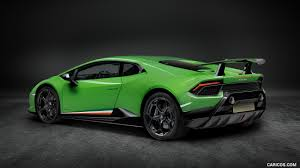 Lamborghini Huracan Back - 2018 lamborghini huracán performante rear three quarter hd