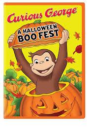 halloween boo curious george a halloween boo fest amazon ca frank welker