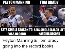 Peyton Manning Meme - peyton manning tom brady n leces onfl meme sets singleseason td sets