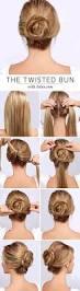101 cute u0026 easy bun hairstyles for long hair and medium hair