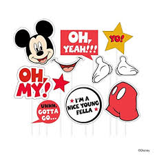 mickey mouse photo booth props buy disney mickey mouse photo booth prop online at low prices in