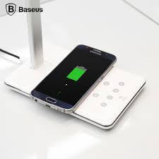 Wireless Charging Table Baseus 2 In 1 Qi Wireless Charging Table Lamp For Iphone 5 5s 6 6s