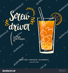 modern hand drawn lettering label alcohol stock vector 563930926