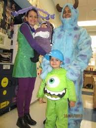 Monsters Inc Costumes Diy Monster U0027s Inc Cda Costumes Cheap Yellow Backpacks From