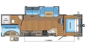 jayco jay flight slx 284bhs travel trailer floor plan