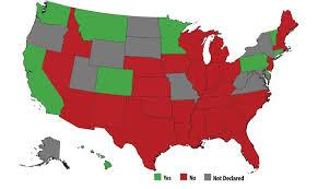 Map States Map States Saying U0027no U0027 To Syrian Refugees
