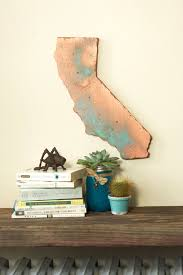 california state wood cut out silhouette wall decor house