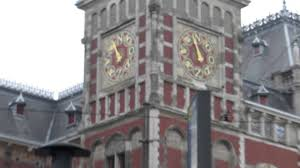10 weird clock at amsterdam centraal station youtube