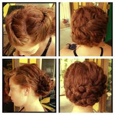 pin up hairstyles for curly short curly