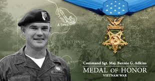 Most Decorated Soldier Currently Serving Command Sergeant Major Bennie G Adkins Medal Of Honor Recipient