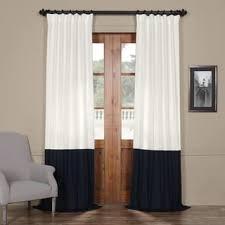 Cotton Drapes Black Cotton Curtains U0026 Drapes Shop The Best Deals For Nov 2017