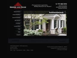 home design and builder home builder website design