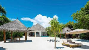 maldives beach residence with pool luxury villas maldives