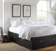 Pottery Barn Platform Bed Storage Platform Bed Pottery Barn