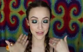shades of teal makeup tutorial