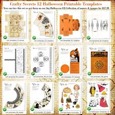 Free Halloween Printable Templates by Crafty Secrets Heartwarming Vintage Ideas And Tips September 2012