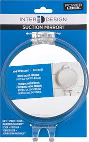 interdesign suction mirror 1 0 ct walmart com
