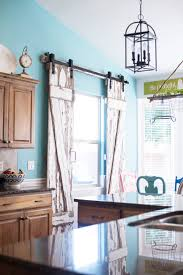 window treatments for kitchen sliding glass doors watermelon cherry limeade recipe diy barn door barn doors and