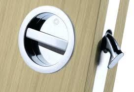 door interior barn door locks awesome pocket door privacy latch