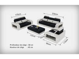 canapé 2 places fauteuil assorti canape cuir 3 places 2 fauteuils idées de décoration intérieure