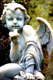 Rocking Bird Garden Ornament by Cherub With Bird One Of My Favorite Cherubs Angels