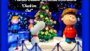 snoopy doghouse christmas decoration create your own peanuts christmas with these pieces