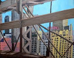 brooklyn bridge watch tower dumbo brooklyn drawing in zoom